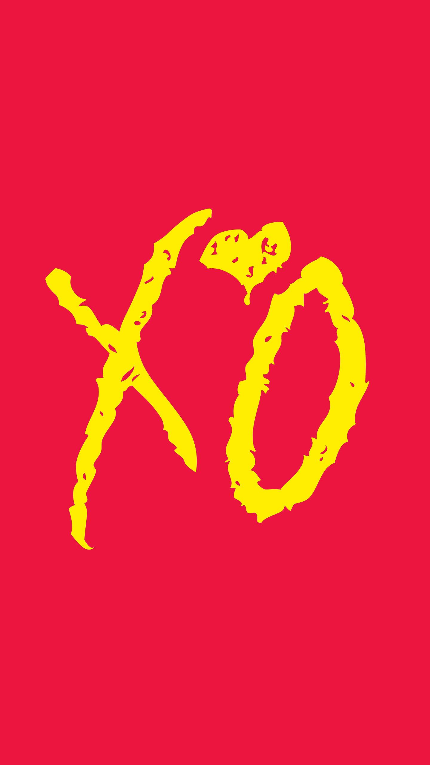Gold Xo Wallpaper Background