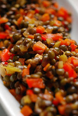 Braised Puy Lentils© by Haalo