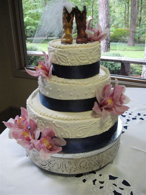 Cowboy Wedding Cake   Wedding Cakes by Simply Delicious