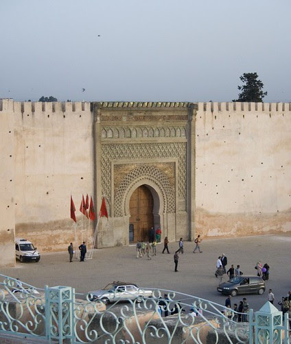 Bab Monsour and Sunset