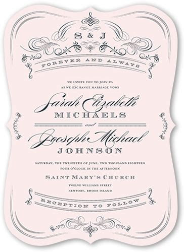 Shutterfly Wedding Invitations Samples   Wedding Ideas