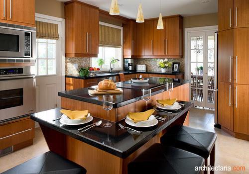 Meja Dapur dan Meja untuk Ruang Makan Apa yang