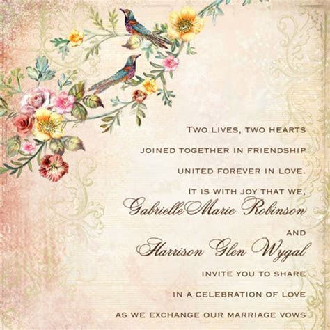 A Guide to Wedding Invitation Wording Etiquette   Brides