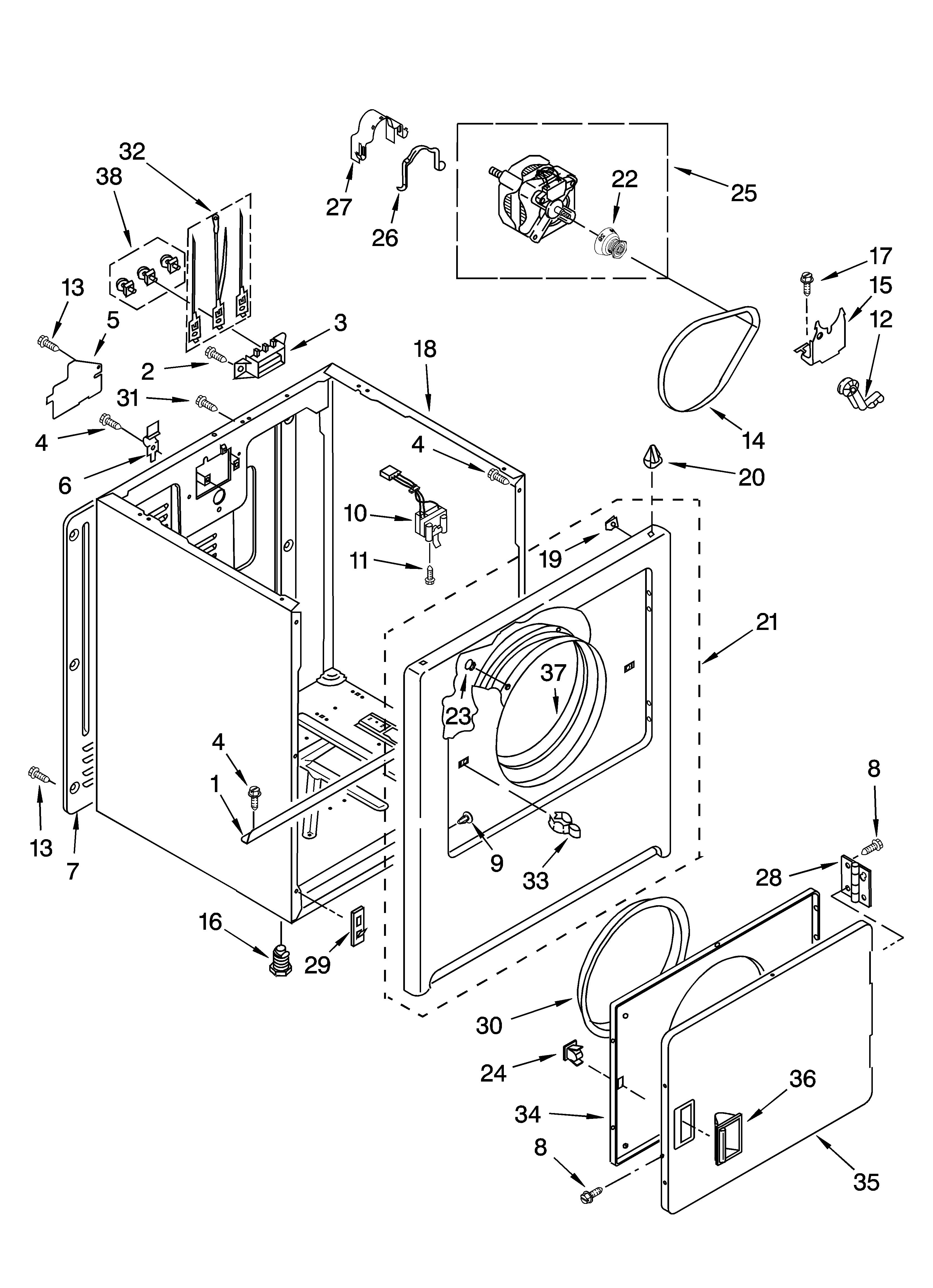 Roper Dryer Belt Diagram Wiring Diagram