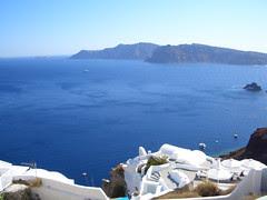 Oia on the cliffs of Santorini