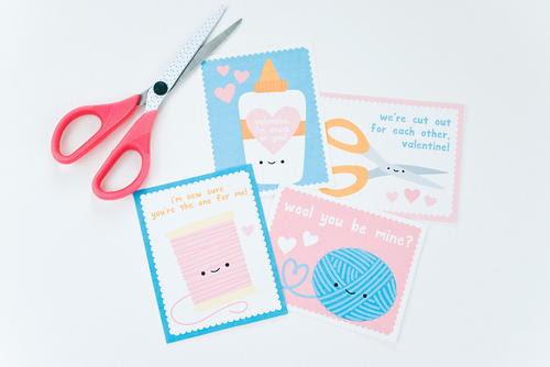 Cute & Crafty Printable Valentine
