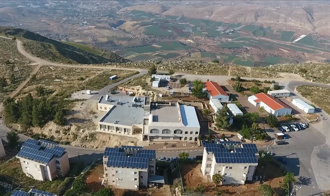 Elon Moreh, one of the 15 towns slated to become an enclave