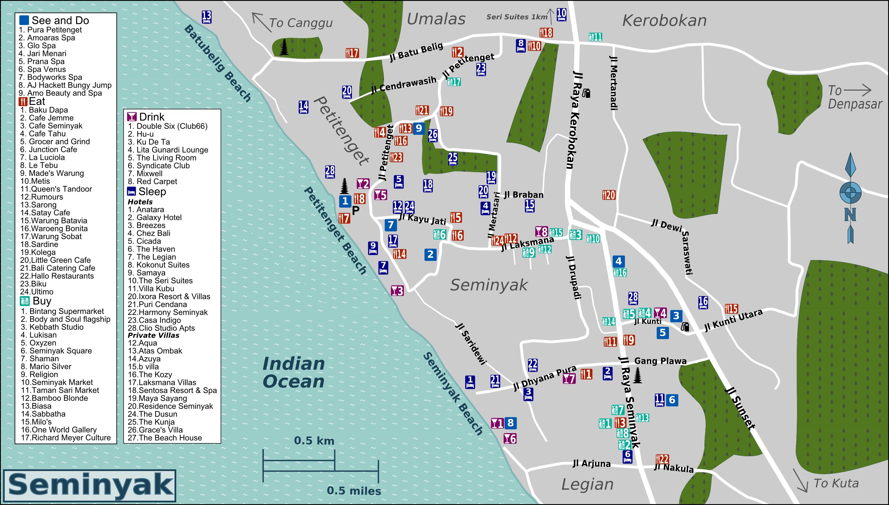 Download Villa Massilia Location Map Zip Picture BestplacetovisitinIndonesia; seminyak bali