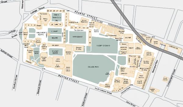 suffolk university campus map Trinity International University Campus Map Map Of The World suffolk university campus map