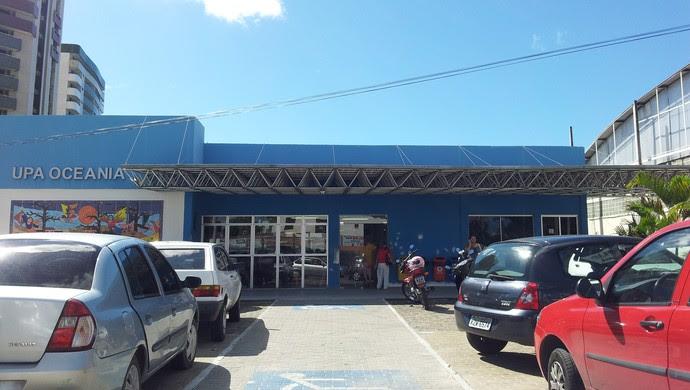 Upa-Oceania, unidade de pronto atendimento, em João Pessoa (Foto: Phelipe Caldas / GloboEsporte.com/pb)