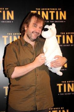 Tintin photo call
