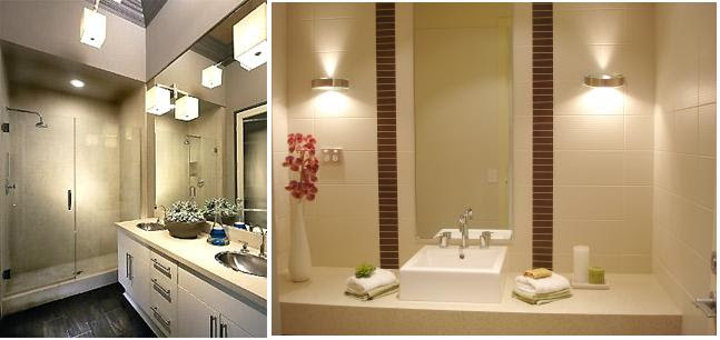 Increase Bathroom Charm with the Right Lighting