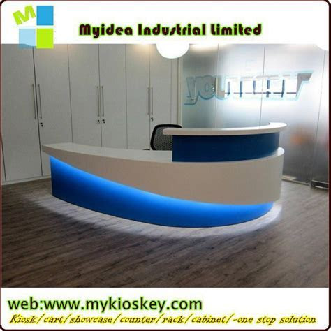 Reception Table Design/round Reception Desk Coffee Bar