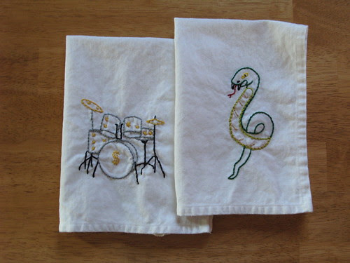 New embroidered cloths