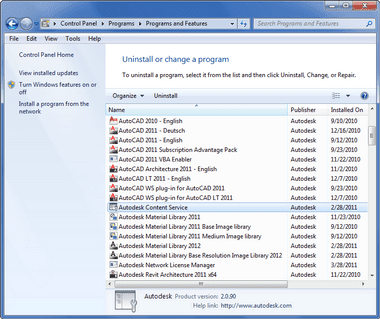 JTB World Blog: How to remove all Autodesk products from Windows