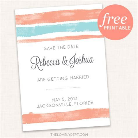 8 Free Printable Save the Dates: But, Should You Print