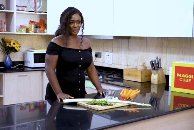 """Uriel's Kitchen Episode 6: """"Uriel cooks Carrot and Leek soup spiced with Maggi Chicken"""""""