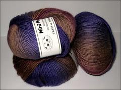 Mini Mochi yarn, variegated