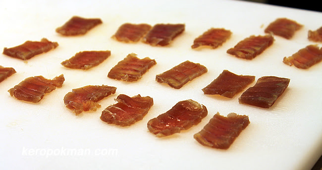 The Mojama (Cured Tuna)