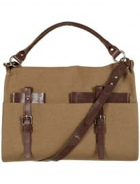 Topman Brown Deconstructed Satchel