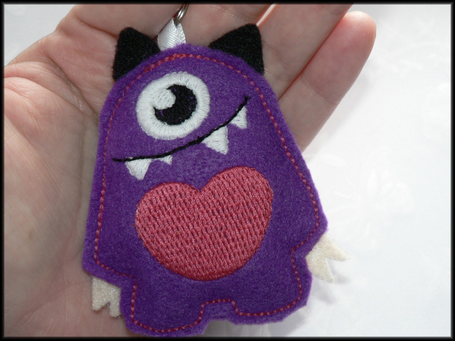 Keychain Little Mono monster