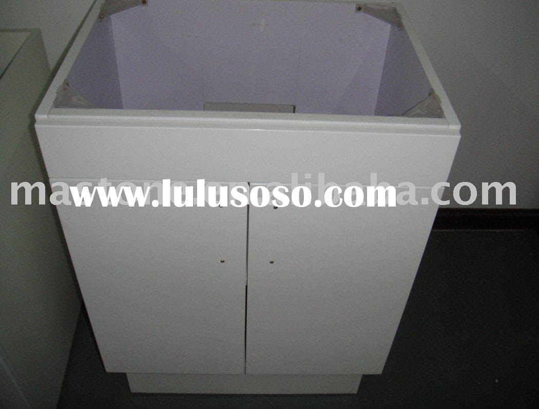 White Kitchen Sink Base Cabinet