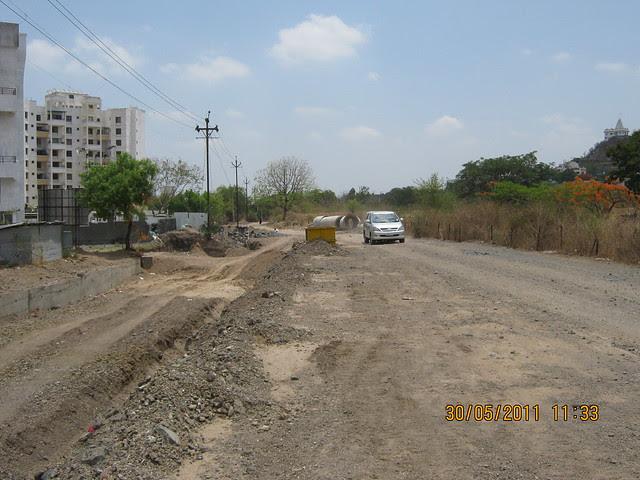 Baner road to Mumbai Bangalore Bypass D P Road - Reelicon Alpine Ridge, 2 BHK 2.5 BHK 3 BHK Flats, near Pancard Club, Baner Pune