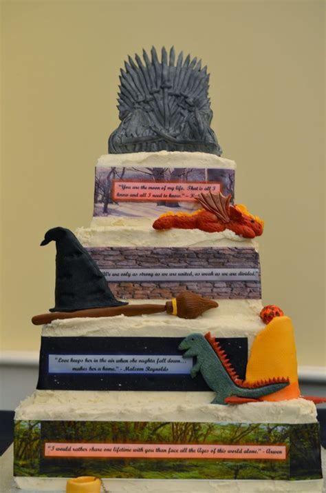 15 Incredibly Nerdy Wedding Cakes   eBae   Guff