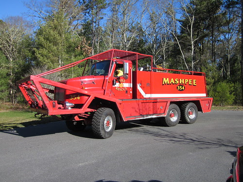 Mashpee Brush Breaker 354 by U. S. Fish and Wildlife Service - Northeast Region