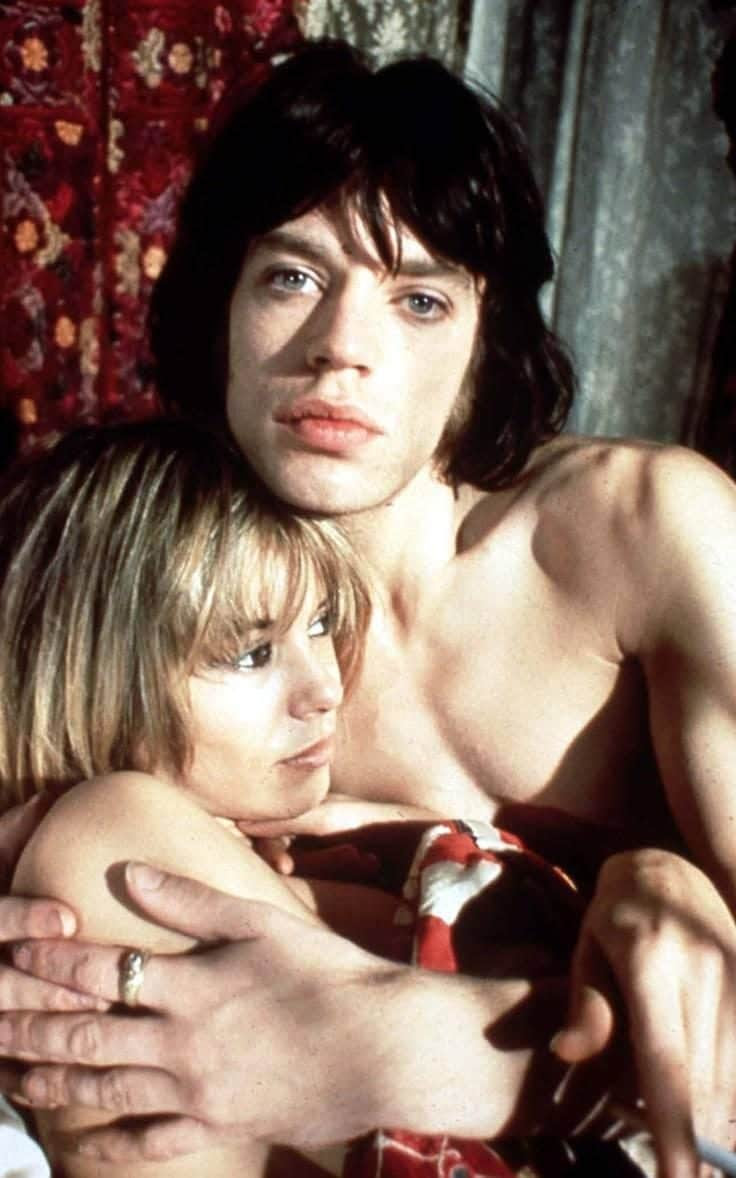 Pallenberg in 'Performance' with Jagger