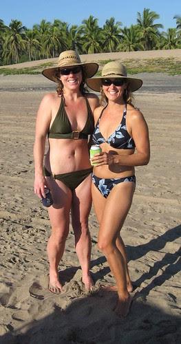 Laura and Maureen