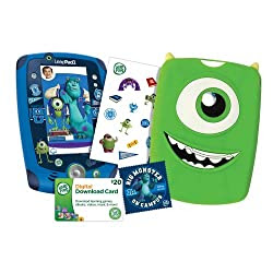 LeapFrog LeapPad2 Disney Pixar Monsters University Bundle, Varsity Edition