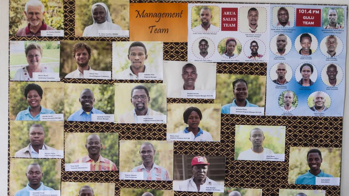 Católicos y musulmanes en la onda ugandesa de Radio Pacis