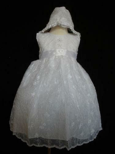 baptism dress ebay