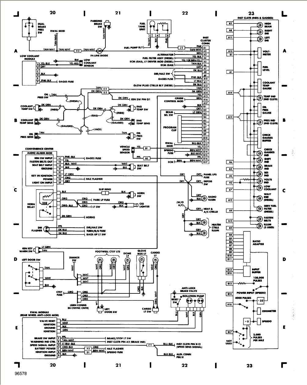 B459 1985 Chevy Truck Fuse Box Diagram Wiring Library