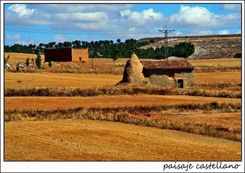 paisaje castellano: mota del marqués