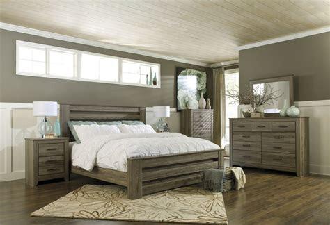 zelen pc poster bedroom set  warm gray