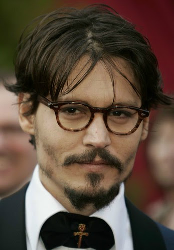 Johnny Depp Hairstyles In Various Fashion Styles