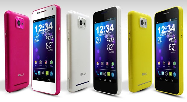 BLU Products to use stock Android from now on, ships Vivo 43 in new colors