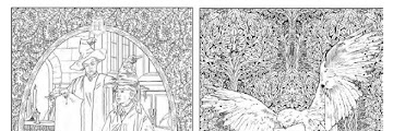 Printable Harry Potter Colouring Book