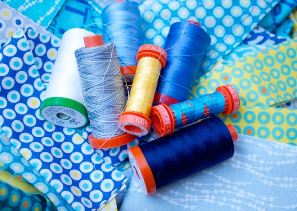 colors of Aurifil thread