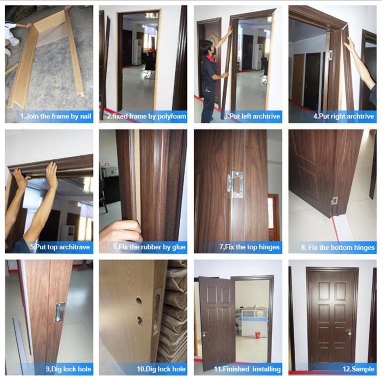 Jk P9008 Jiekai Modern Pvc Wooden Door Pvc Bathroom Plastic Door Pvc Profile For Windows And Doors China Manufacturer