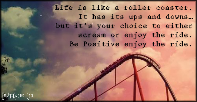 Quotes About Roller Coaster Ride 62 Quotes
