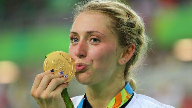 La ciclista Laura Trott obtuvo cuatro medallas de oro
