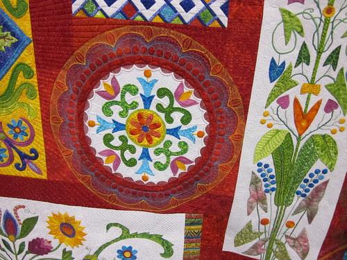 "detail of ""Fiesta Mexico"" by Karen Kay Buckley of Carlisle, PA"