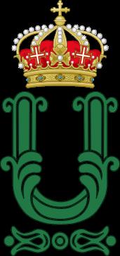 Archivo: monograma real de rey Umberto II de Italy.svg