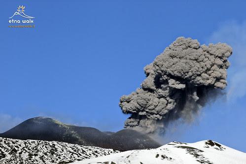 Esplosione Cratere di Sudest