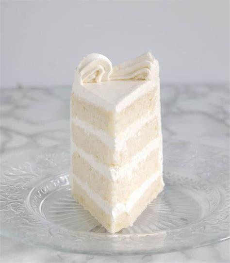 Velvety Soft White Cake   i am baker