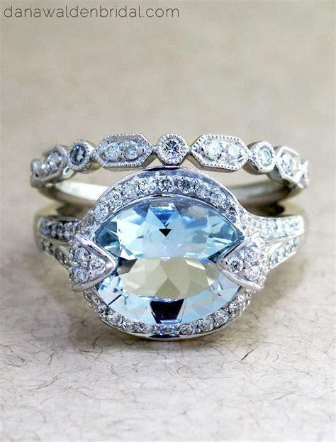 Petra aquamarine ring   Aquamarines, Engagement and Diamond
