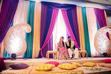 Mehndi night in Ontario, Canada Pakistani Wedding by Qiu